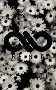 #INFINITE #B&W #SAD #FLOWERS #WALLPAPER #PHONE #KPOP