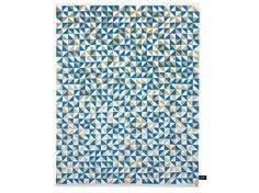 Rectangular rug with geometric shapes MID MOD by cc-tapis ®
