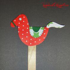 Baga Kreatív oldala: Nemzeti színű madárka, lovacska