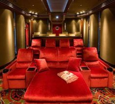 41 Amazing Home Theater Furniture Ideas