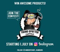 Which product is hot? Take part in Ambientshops Trend-Spo… Trend-Spotter-Contest! Which product is hot? Trends, Photo And Video, Instagram, Design, Hamburg, Women Accessories, Products, Design Comics, Beauty Trends