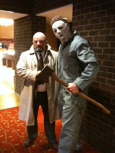 Micheal Myers & Loomis Monster Mania Con Hunt Valley