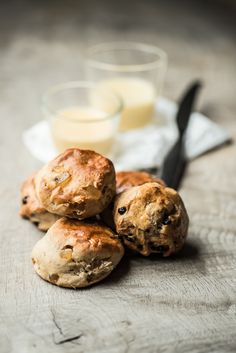 Get ready for afternoon tea: Scones med ingefær eller scones med tørrede blåbær