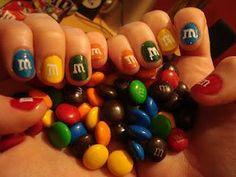 M nail art