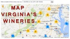 Our Virginia Wine Map makes it easy for you to work your way through Virginia this Wine Month! #VAWineMonth #FallinVA