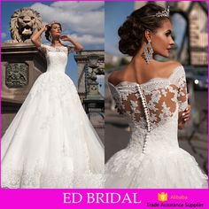 Check out this product on Alibaba.com App:Puffy Tulle Ball Gown Wedding Dresses 2016 Vestido de noiva Wedding Dresses https://m.alibaba.com/bi6vya