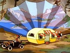 "Disney Cartoon Short: ""Mickey's Trailer"", 1938    유치원때 무한반복했던 에피소드! 다시보고싶다...집에 비됴 아직 있을꺼같아 @.@ Disney ClassicDay 하자 -with Ji Won Kim"