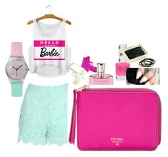 """""""Yassssss"""" by serenity-heard ❤ liked on Polyvore featuring beauty, Jane Norman, Topshop, Dot & Bo, Lancôme and FOSSIL"""