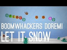 Let it Snow - Boomwhackers DoReMi Music Maniac, Z Music, Baby Music, Music Notes, Christmas Concert, Christmas Music, Let It Snow, Let It Be, Online Music Lessons