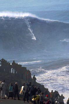 wslofficial: Nazaré Surfer | Sebastian Steudtner  MORE XXL Big Wave Awards Photo | Abel Santos