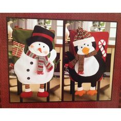 Christmas Chair Back Covers.Pinterest