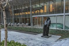 A Manhattan, New York : Le Balzac, dans le jardin de sculptures du MoMA, Museum of Modern Art.