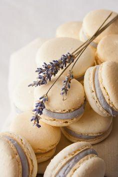 Hint of Vanilla: Honey Lavender Macarons