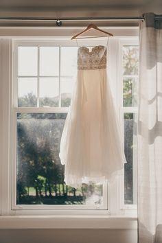 wedding dress perfection, photo by Christine Lim http://ruffledblog.com/berkeley-church-wedding #weddingdress #strapless