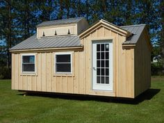 Sugar shack tiny house, traditional New England designs. Ships free and fast to USA and CANADA* #jamaicacottageshop