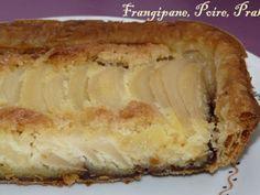 Recette Autre : Tarte frangipane, poires, pralinoise par Carnet de voyages en Gourmandise