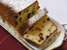 Tvarohový biskupský chlebíček s hrozienkami