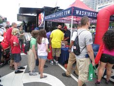 At the Safeway BBQ Battle, the Promo Squad provided a prize wheel for fans to get a chance to win free giveaways, there was also an enter-to-win contest that fans cound enter electronically onto our iPads.