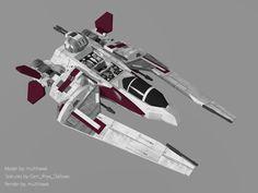 Jedi Scout Fighter by multihawk on DeviantArt