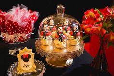 Cupula Festa Minnie Vermelha da Maria Clara