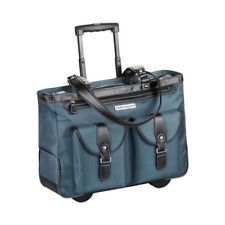 Shop for Clark & Mayfield Women's Marquam Rolling Laptop Tote Deep Teal - US Women's One Size (Size None). Get free delivery On EVERYTHING* Overstock - Your Online Handbags Outlet Store! Computer Bags, Laptop Computers, Rolling Laptop Bag, Diaper Clutch, Laptop Tote, Deep Teal, Laptop Sleeves, Clarks, Ebay