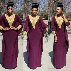 New 2015 deep v neck golden embellishment long sleeves purple elegant kaftan dubai evening dress