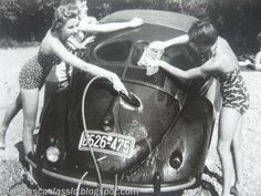 Vintage VW - Car Wash