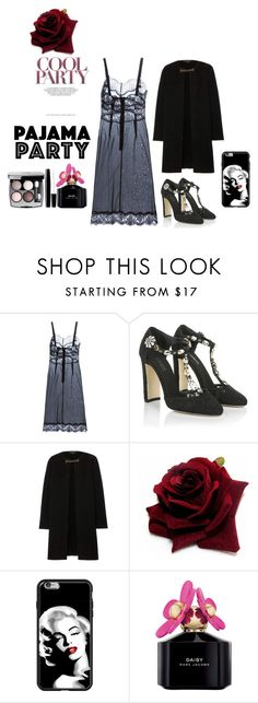 """""""party"""" by bottibott on Polyvore featuring Dolce&Gabbana, Burberry, Marc Jacobs and Chanel"""