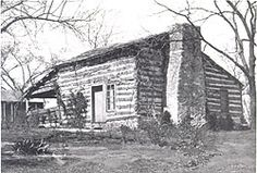 """KS = The """"John Brown Cabin"""" was built in 1855 about a mile west of Osawatomie, Kansas and was later sold to John Brown's brother-in-law, Rev. Samuel Adair. It  became a stop on the Underground Railroad in Kansas."""