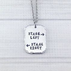 Stage Left Stage Right Theatre Performer by StampedbyDesign