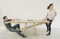 The Courtesy Table by the Dutch designer Marleen Jansen. SUPER!  Photo by Wim de Leeuw