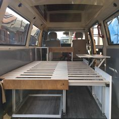 Part III of the #vanconversion : the furniture is coming! #vanlifeideas #campervanconversion #tinyhouse #livingsmall #bullifaktur #vw #t4 #t4camper #ambulance #camper #canpervan #vanlifeideas #vanlife #vanlifediaries #buildyourpersonalcamper