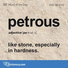 petrous