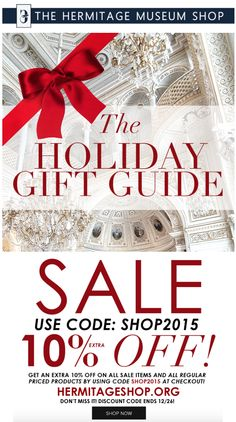 Hermitage Museum Shop.org Holiday Gifts Sale