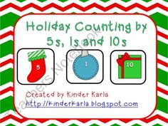 Counting by 5s, 1s, and 10s product from KinderKarla on TeachersNotebook.com