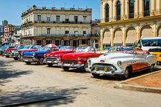 One of the many wonders one can see on a visit to Cuba is its authentic car culture. Over the years, the island, which sits a mere 90 miles from the tip Cuban Cars, Watercolor Landscape, Car Ins, Cars Motorcycles, Over The Years, Vintage Cars, Dream Cars, Automobile, Ju Ju