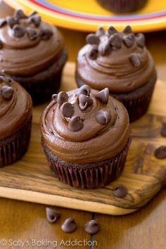 Death By Chocolate Cupcake recipe, chocolate cupcakes