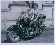 1940's motorcycle race woman - Google Search
