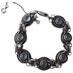 Vintage 950 Sterling Silver Moonstone Bracelet Vintage Silver Jewelry, Vintage Fashion, Sterling Silver, Bracelets, Fashion Vintage, Bracelet, Arm Bracelets, Bangle, Preppy Fashion