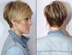 Short Hair Color Ideas for Women Over 40