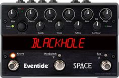 EventideSpace Reverb Guitar Effects Pedal