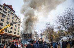 Des débris chargés damiante en plein Quartier chinois dénonce Projet Montréal