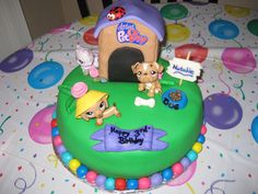 littlest pet shop cake ideas   This Littlest Pet Shop Birthday Cake For My 10 Year Old Daughters Cake ...