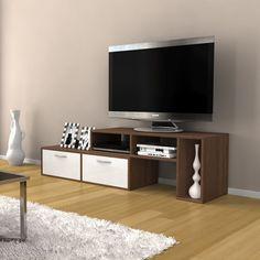 Televizní stolek Barcelona Walnut / TV cabinet Tv Cabinets, Tv Unit, Flat Screen, Barcelona, Flooring, Interiors, Blood Plasma, Flatscreen, Barcelona Spain