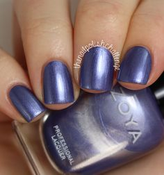 the nail polish challenge: Zoya Winter 2014 Wishes Collection