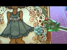 PROJECT SHARE - CARDS MADE WITH PRIMA MIXED MEDIA DOLL - YouTube
