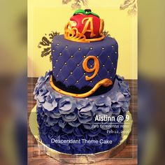 Descendant Cake for Aislinn's 9th Birthday