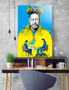 Discover «Breaking bad», Exclusive Edition Aluminum Print by Paola Morpheus - From 69€ - Curioos
