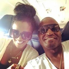 Love & Hip Hop Atlanta stars, Kirk, Rasheeda, Kai and Karter Frost last week . Love And Hip, Love N Hip Hop, Baby Drama, Rasheeda Frost, Toya Wright, Hip Hop Atlanta, Kandi Burruss, Epic Pictures, Gold Aviator Sunglasses