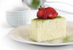 Cotton Soft Japanese Cheesecake.  Much lighter and airier than its American counterpart; it's almost a cross between a cheesecake and sponge cake.